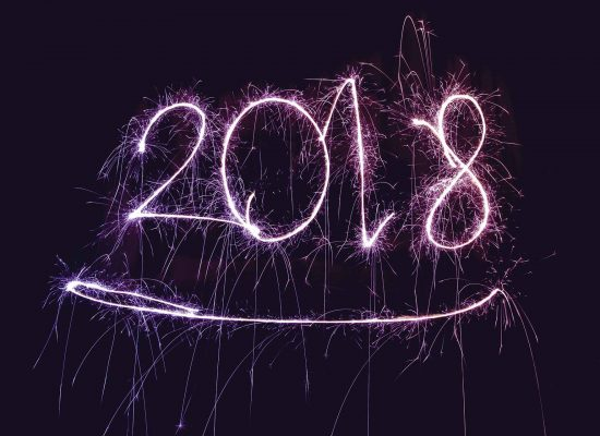 Here's to a wonderful and exciting 2018!
